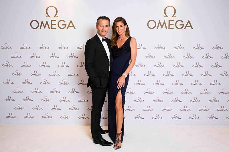 CINDY CRAWFORD - OMEGA Damenuhren I Omega_Her Time Exhibition Party Sydney_Cindy Crawford_10.02.2017 I Credit: OMEGA