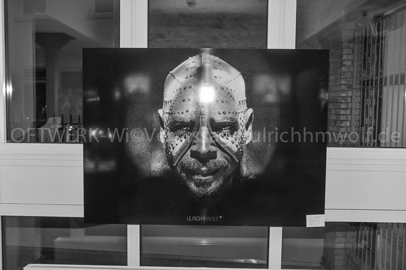 "GRANDIOSE VERNISSAGE ""FACES"" KUNSTAUSSTELLUNG IM LOFTWERK I Crdit: H.M Wolf"