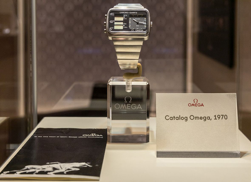 OMEGA Boutique Wien – Ausstellung Olympischen Winterspiele in Pyeongchang I Credit: OMEGA