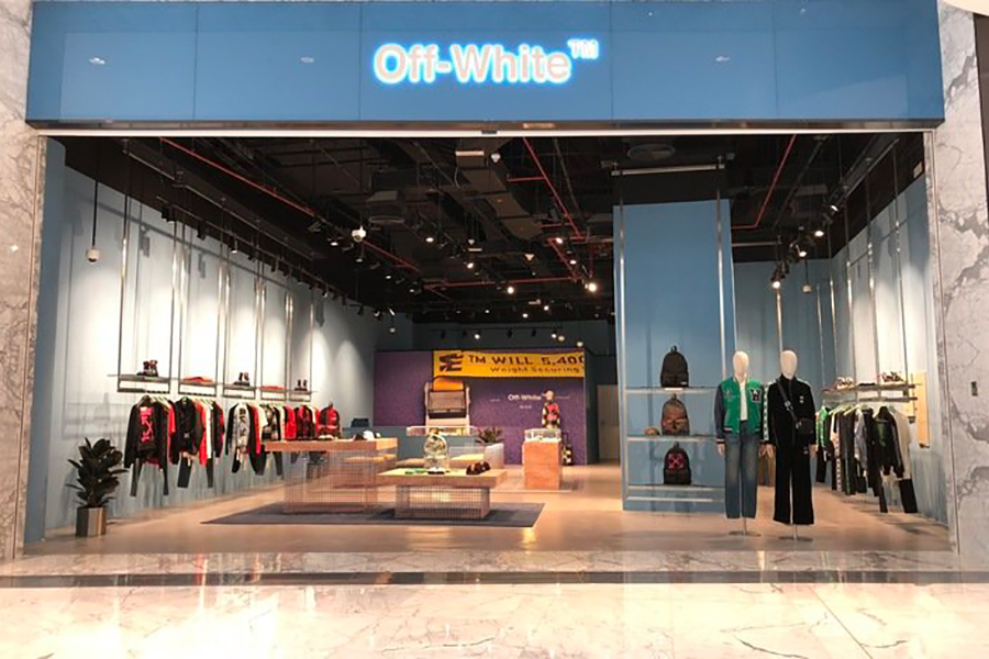 off -white store in dubai