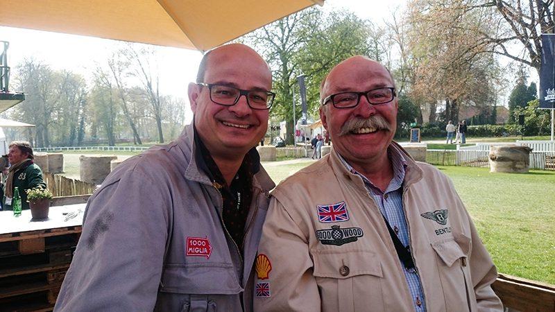Mit Spaß dabei: BDC Mitglieder Dr. Jan Miller (l.) und Ewald Sprey (r.)