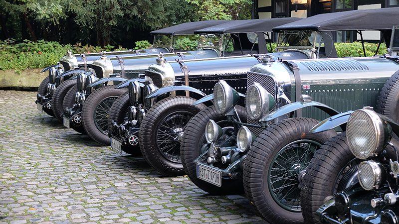 80 Jahre Bentley Drivers Club I Die grünen Vorkriegs-Bentleys sind längst Ikonen des britischen Automobilbaus I Credit: BDC